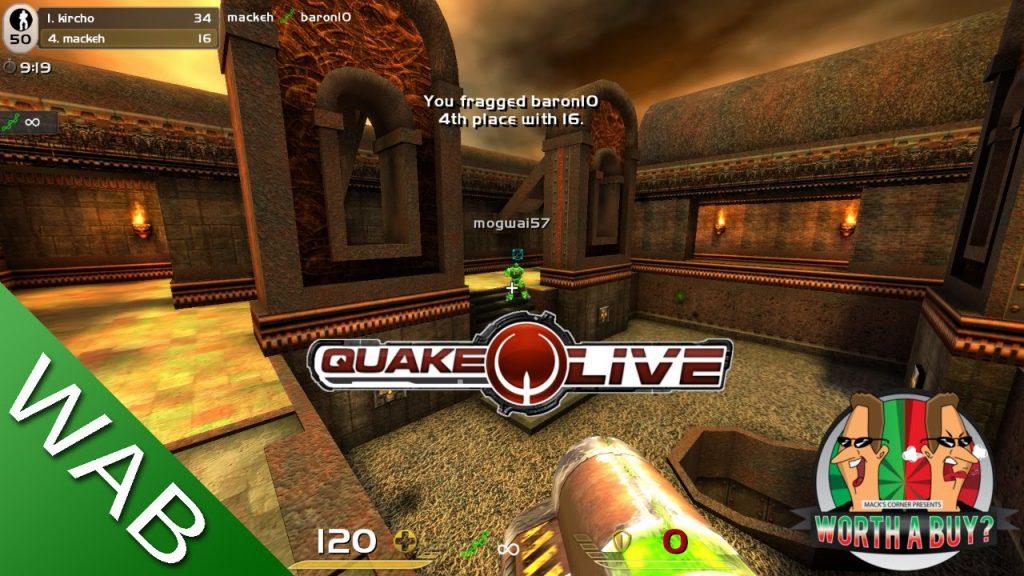 Quake Live Great!  PC GAME